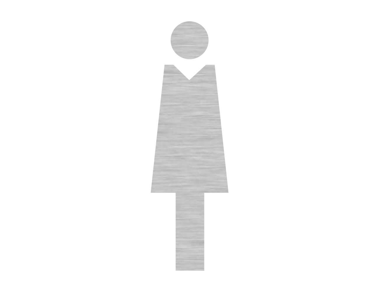 WC Piktogramme - Variante 1  - Dame