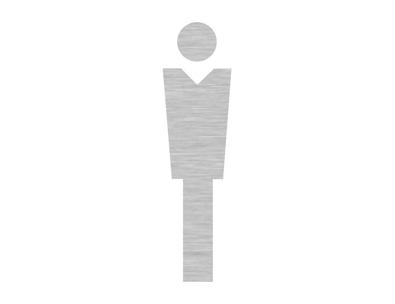 WC Piktogramme - Variante 1  - Herr