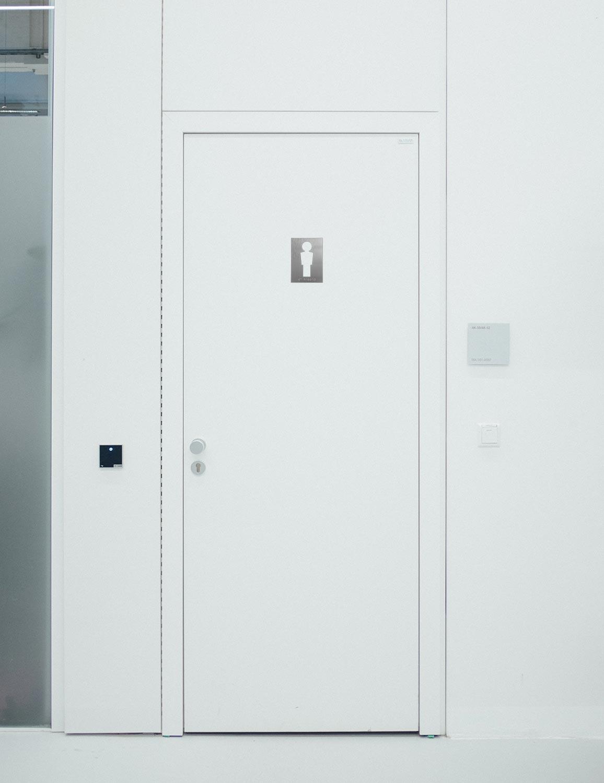 WC-Piktogramme - Modern Herr Anwendungsbeispiel