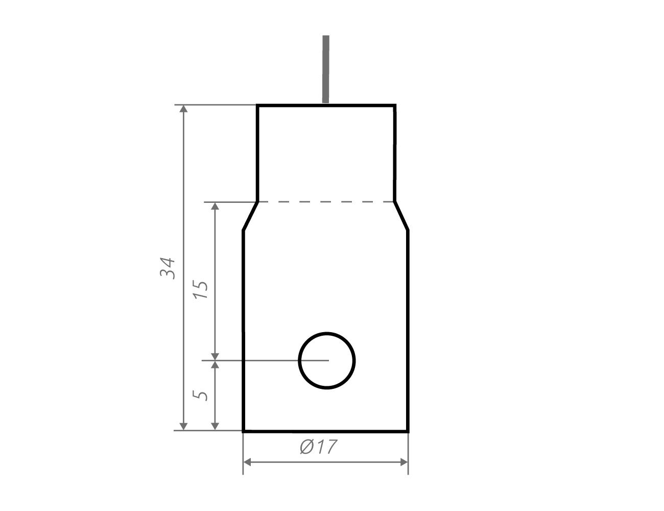 Grafik Schildhalter h1.s