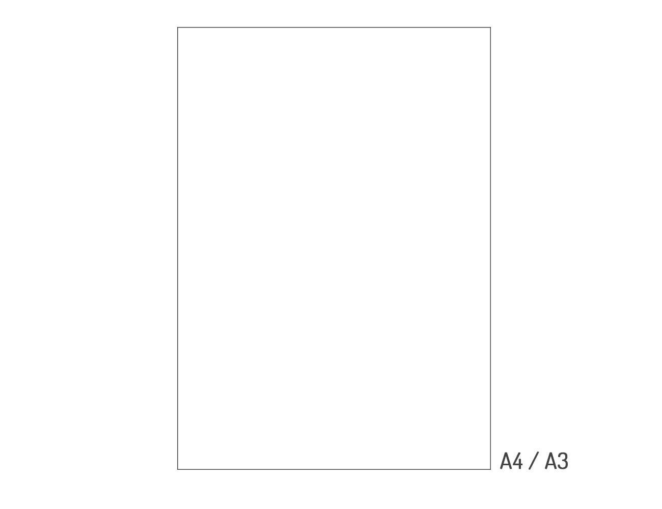 Papier weiß 120 gr. - A4