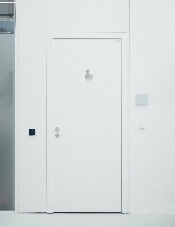 WC Piktogramme - Modern 120 mm R Anwendung