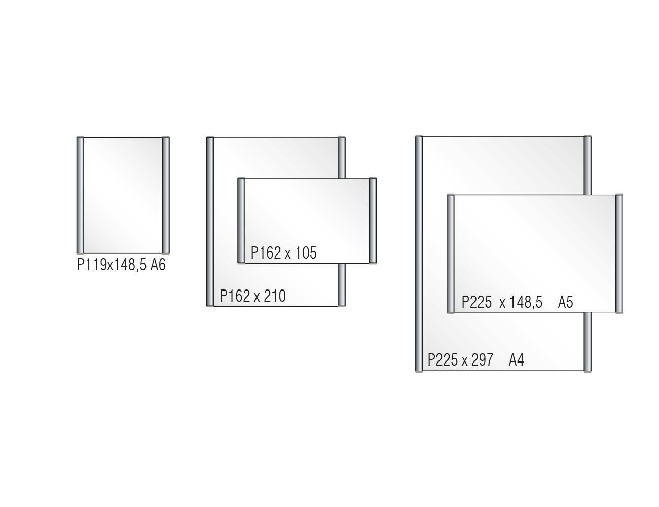 Türschild PLANO - Varianten