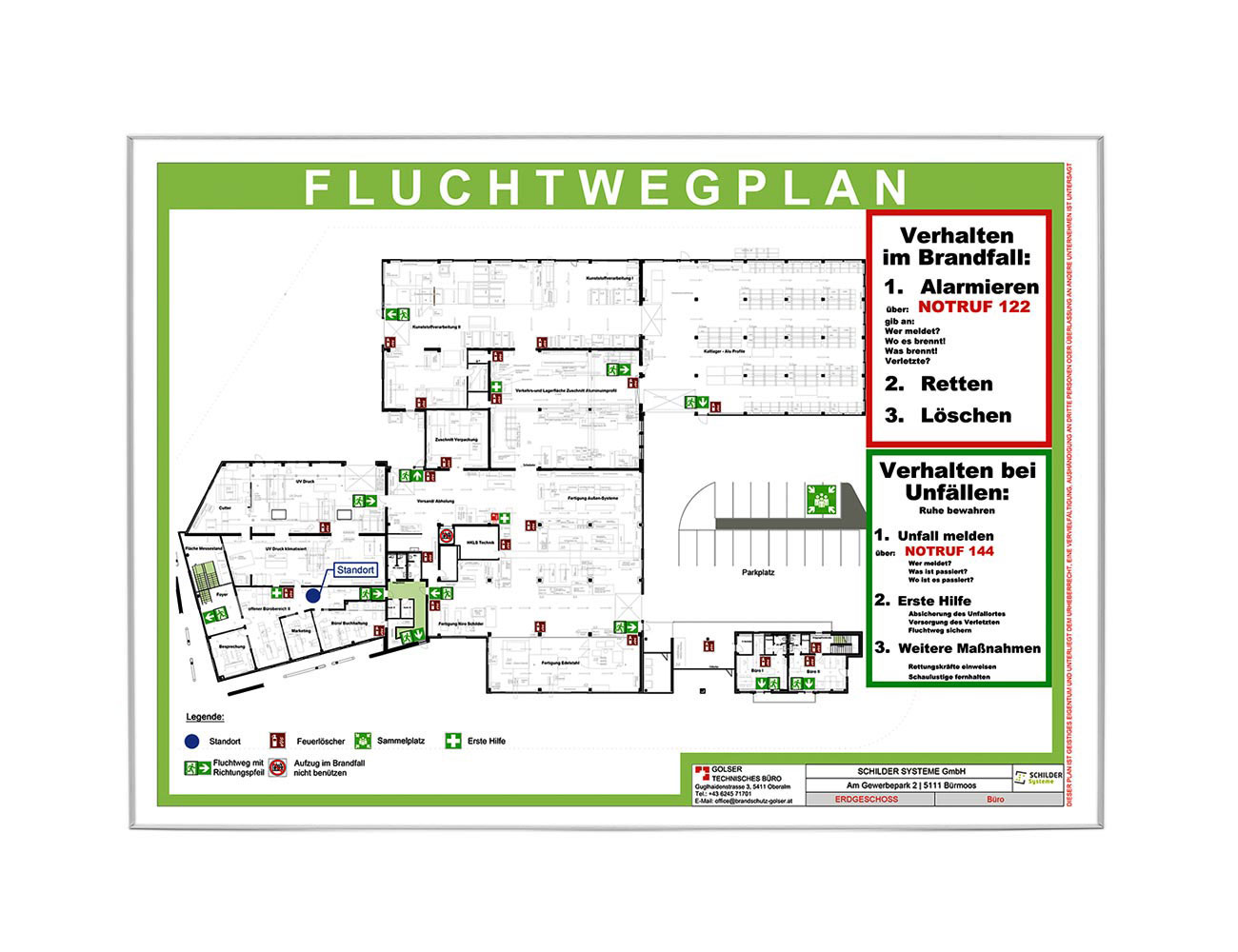 F08 Rahmenschild