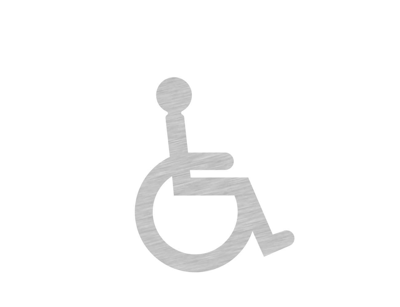WC Piktogramme - Variante 2 - Rollstuhl