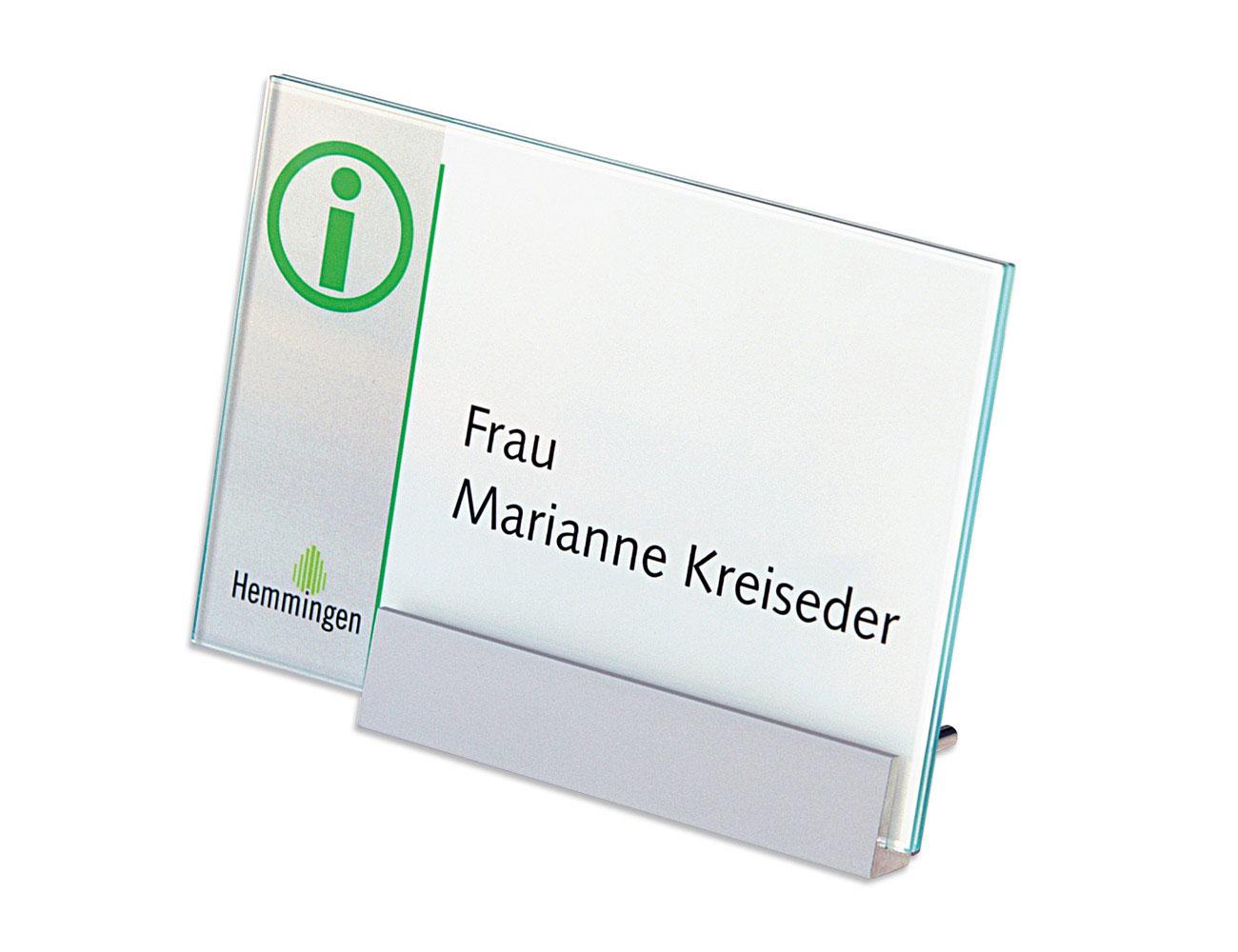Tischaufsteller Kristallino.kurz