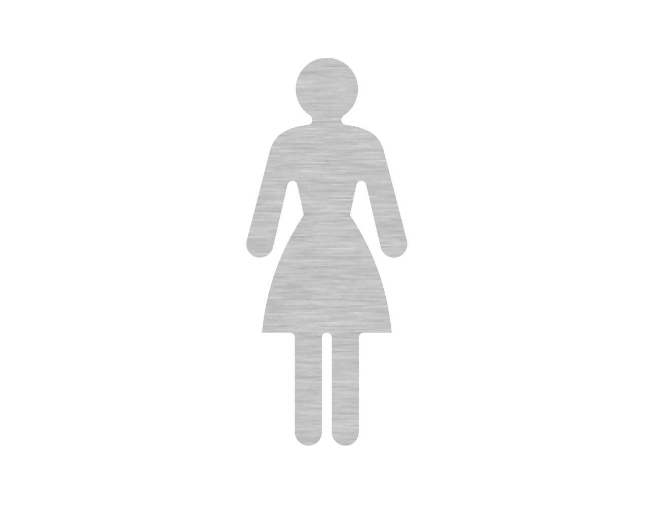 WC Piktogramme - Variante 2 - Dame