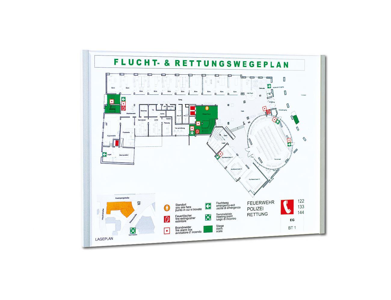 Beispiel Infoschild KRISTALLINO.s