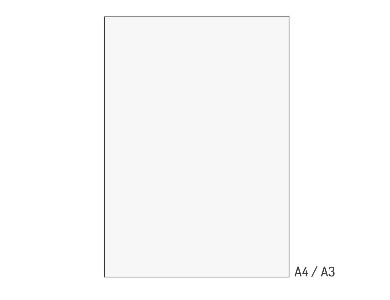 """Zubehör """"Transparentpapier A4"""""""